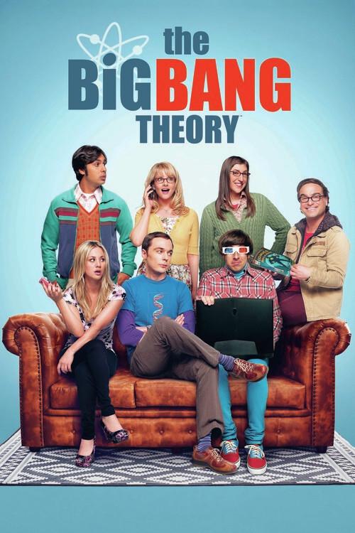 Big Bang Theory - Mannskap Fototapet