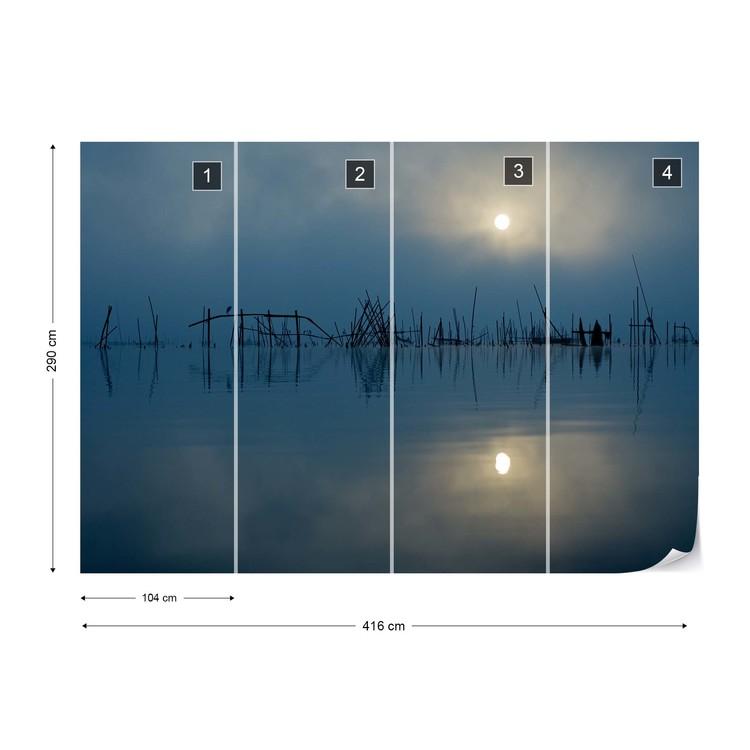 Blue Sun Fototapet