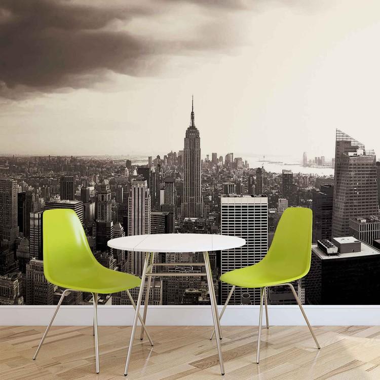 City New York Skyline Empire State Fototapet