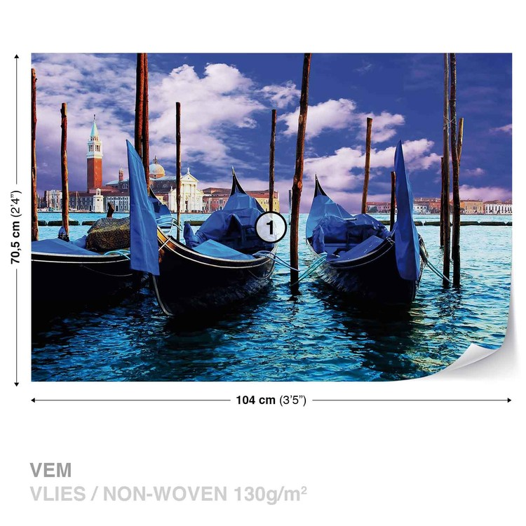 City Venice Gondola Fototapet