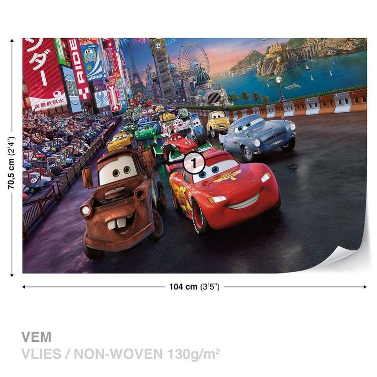 Disney Cars Lightning McQueen Mater Fototapet