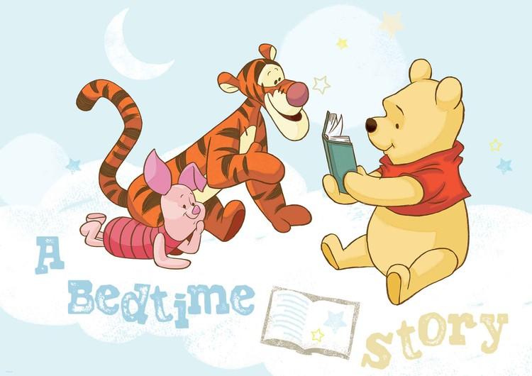 Disney Winnie Pooh Piglet Tigger Fototapet