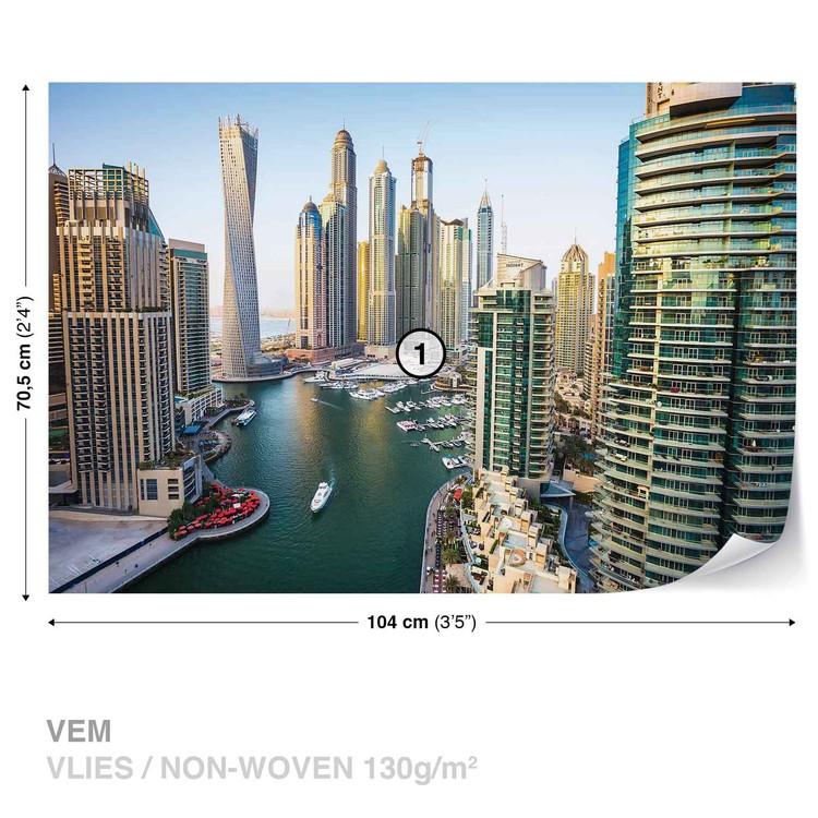 dubai city skyline marina fototapet europosters ro