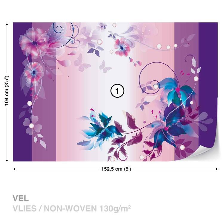 Floral Design Fototapet