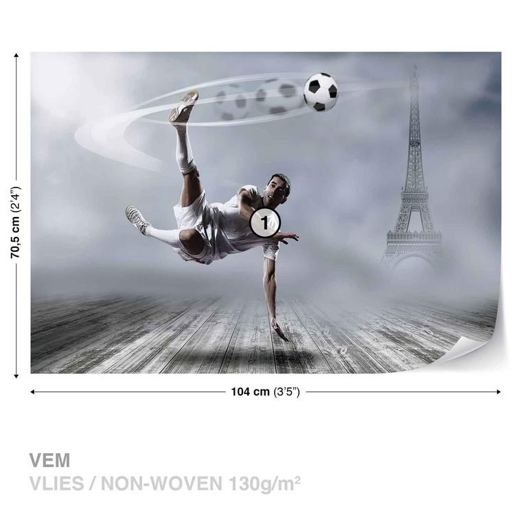 Football Player Paris Fototapet