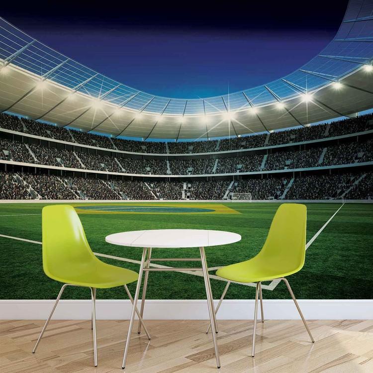 Football Stadium Fototapet   Kjøp hos Europosters