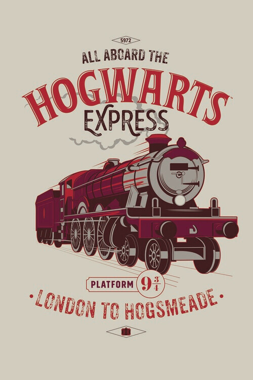 Harry Potter - Expresul de Hogwarts Fototapet