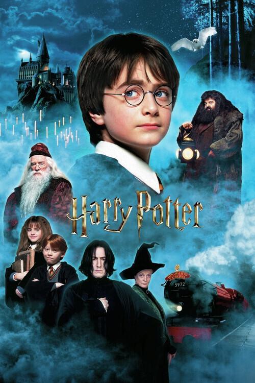 Harry Potter - Piatra Filozofală Fototapet