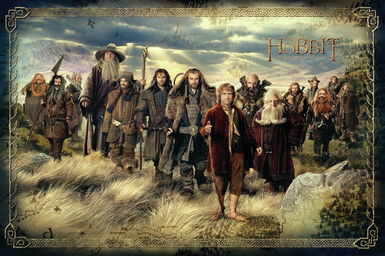Hobbit - En oväntad resa Fototapet