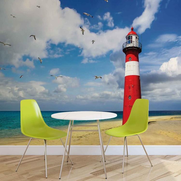 Lighthouse Beach Fototapet