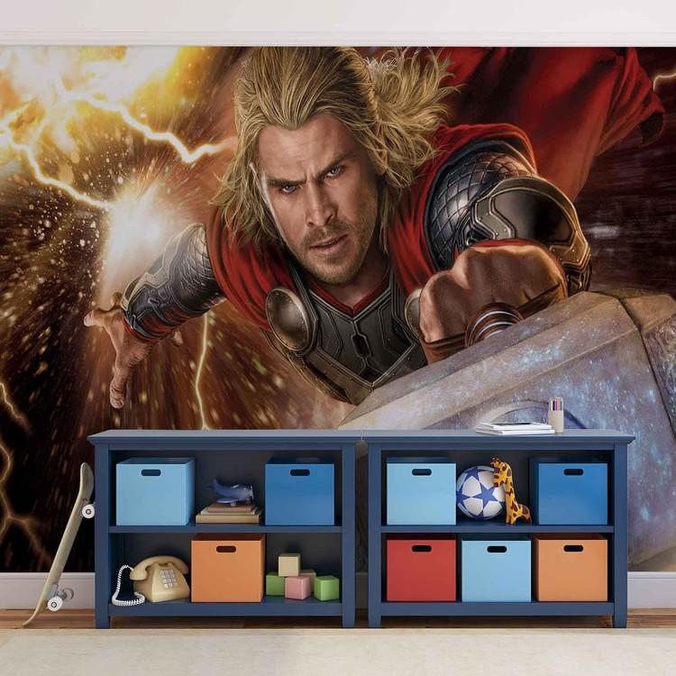 Marvel Avengers Thor Fototapet