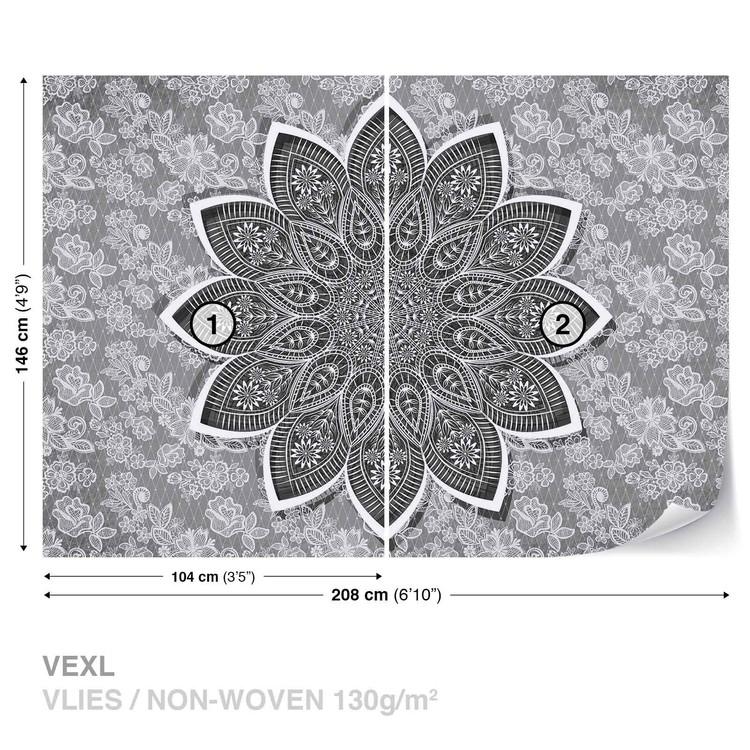Modern Abstract Pattern Fototapet
