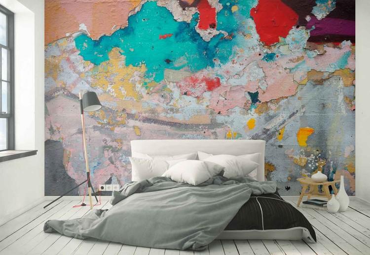 Paint Layers Fototapet