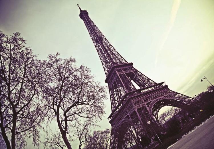 Paris - Eiffeltornet Fototapet