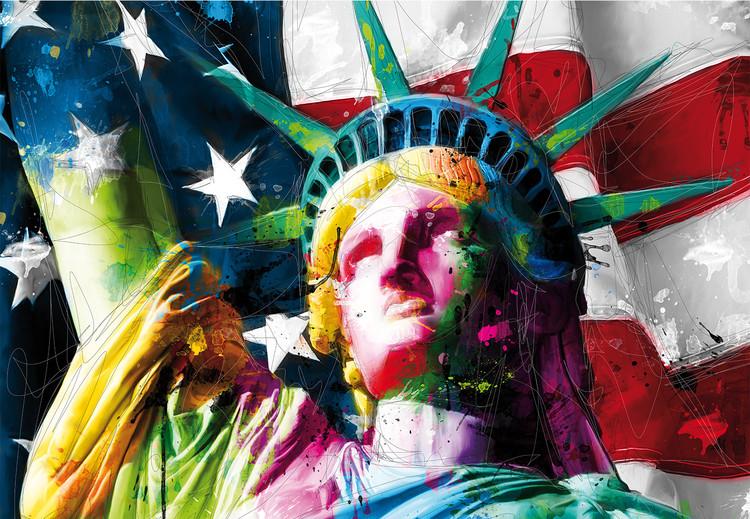 Patrice Murciano - Liberty Vinyl väggmålningar