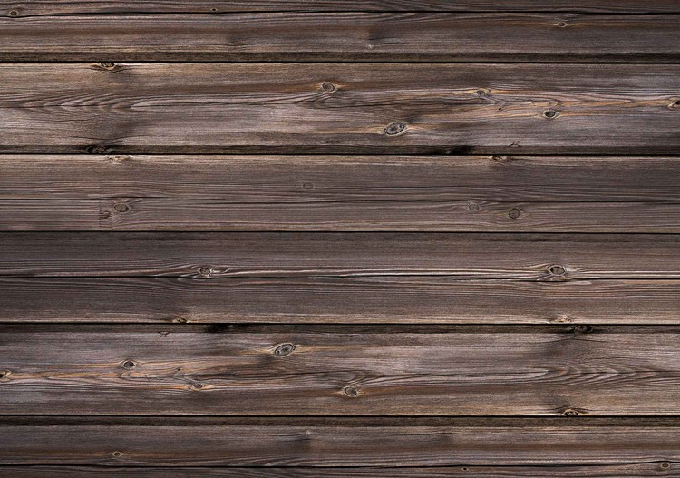 Pattern Brown Wood Fototapet