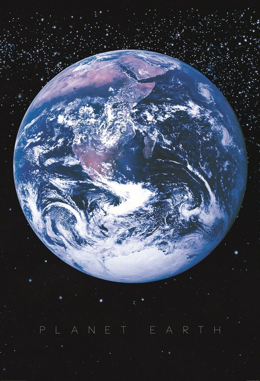 Planet Earth - Space Fototapet