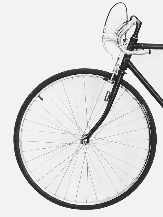 Retro Bicycle Fototapet