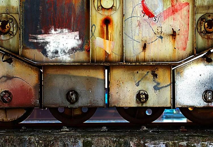 Rusty Train Fototapet