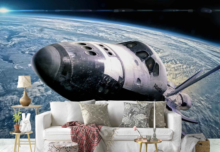 Space Shuttle Fototapet