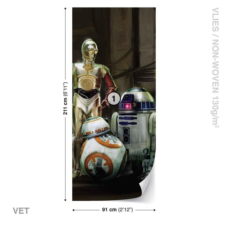 Star Wars Droids Fototapet