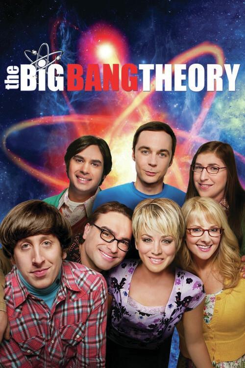 Teoria Big Bang - Echipă Fototapet