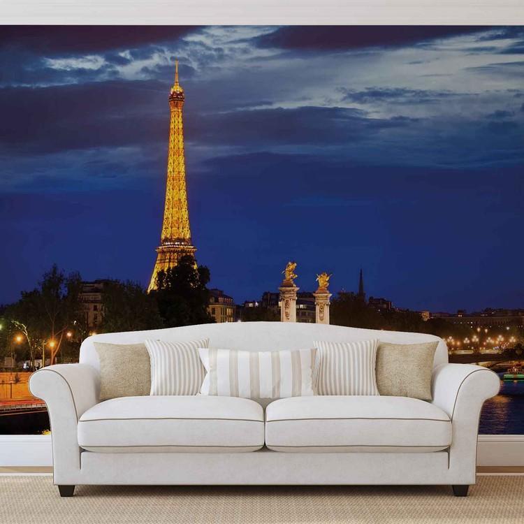 The Eiffel Tower Fototapet