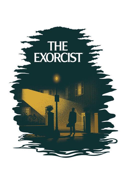 The Exorcist arrived Fototapet