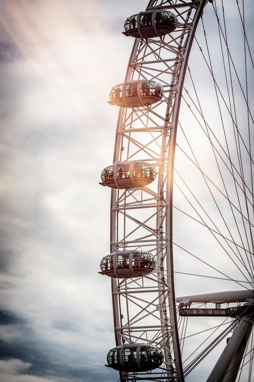 The London Eye Fototapet