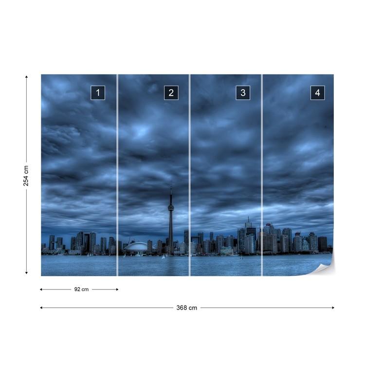 Toronto Blue Fototapet