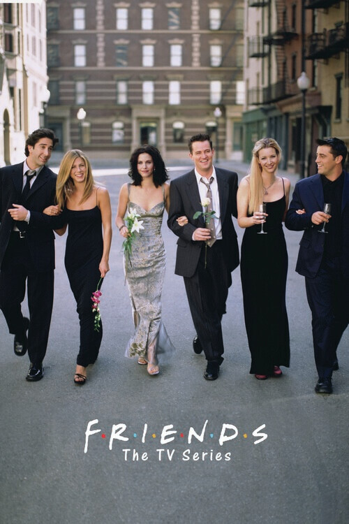 Vänner - TV-serier Fototapet