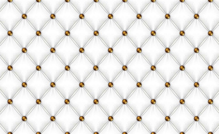 White Pattern Checkered Fototapet