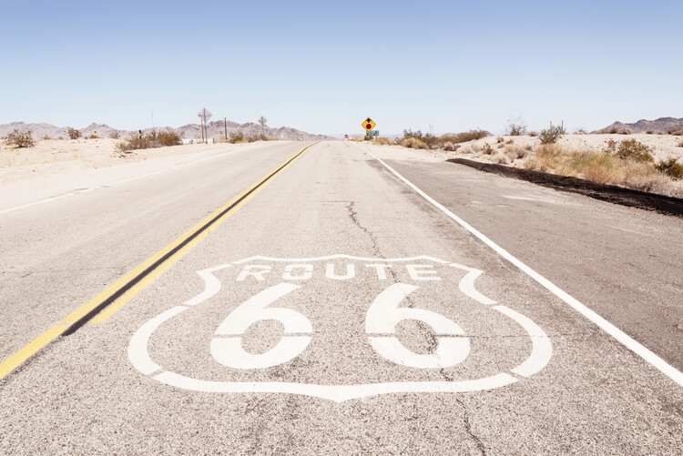 American West - Route 66 Tapéta, Fotótapéta