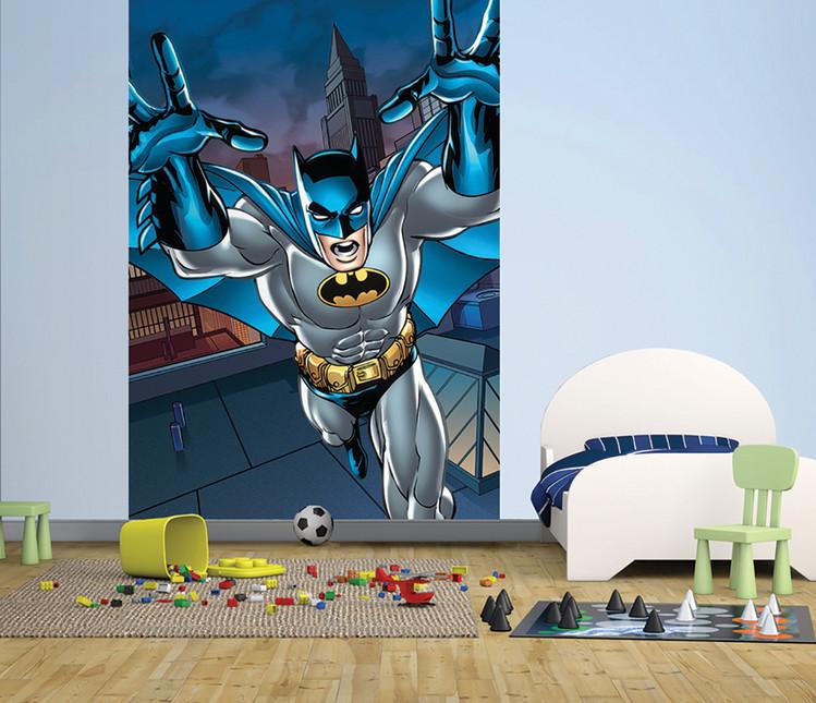 Batman - Roof Fali tapéta