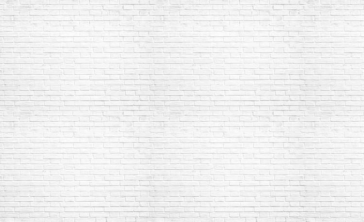 Brick Wall White Tapéta, Fotótapéta