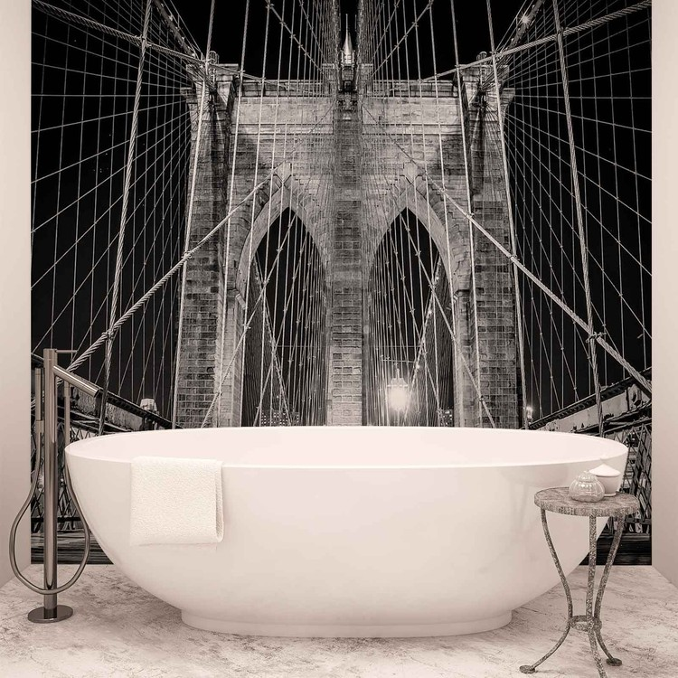 Brooklyn Bridge New York Fali tapéta