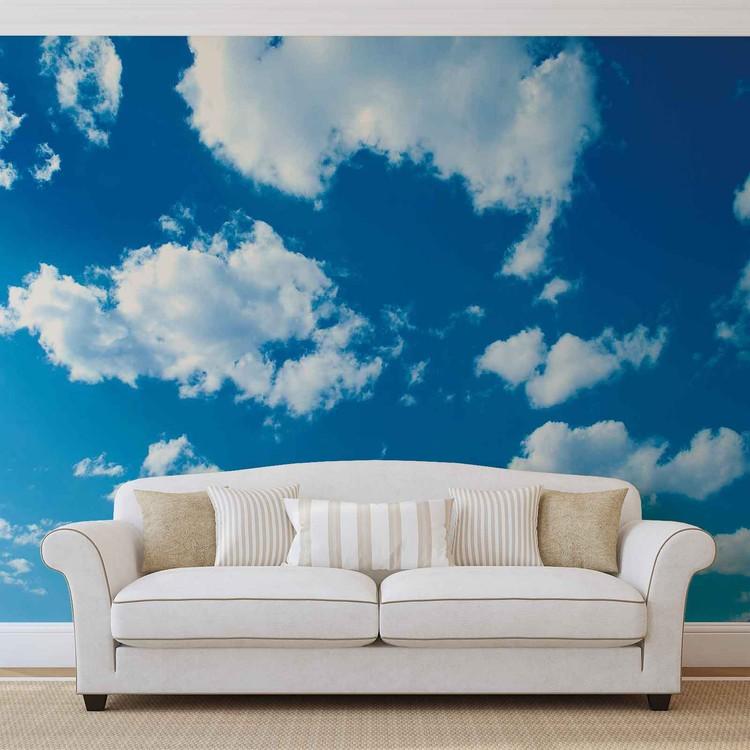 Clouds Sky Nature Tapéta, Fotótapéta