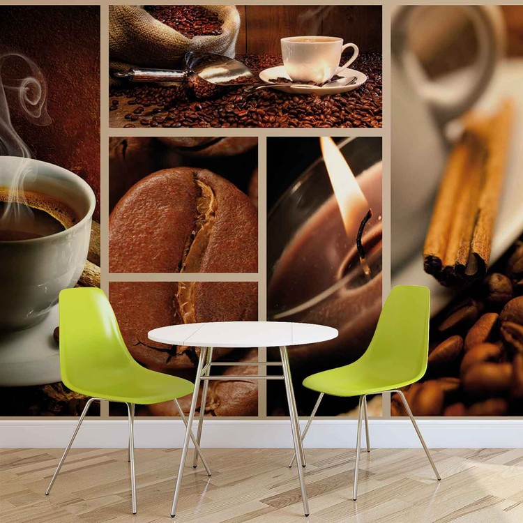 Coffee Cafe Tapéta, Fotótapéta