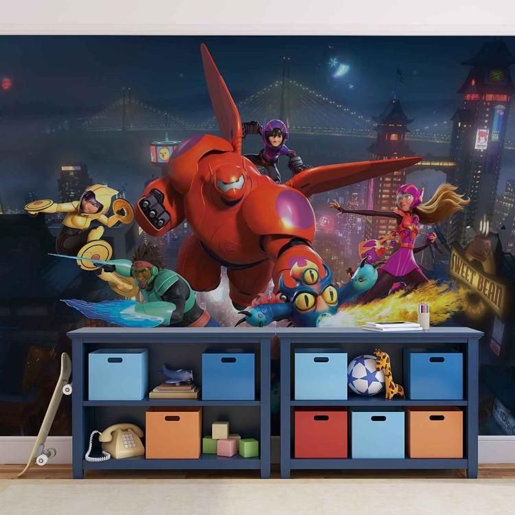 Disney Big Hero 6 Tapéta, Fotótapéta