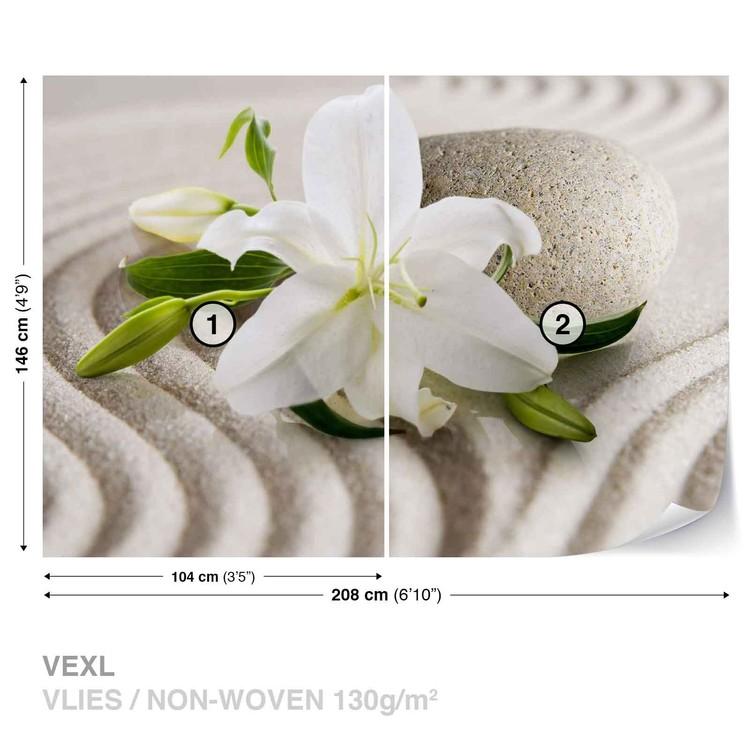 Flower Sand Tapéta, Fotótapéta
