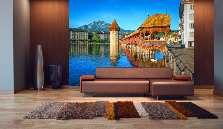 Lucerne – Switzerland Fali tapéta