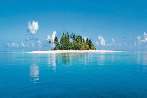 MALDIVE ISLAND Fali tapéta
