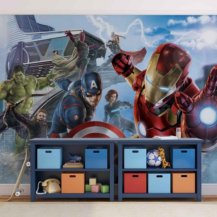 Marvel Avengers Team Tapéta, Fotótapéta