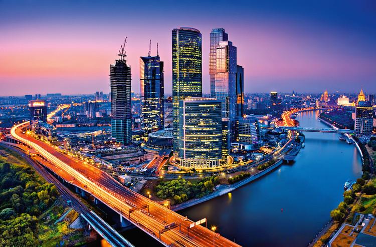 MOSCOW TWILIGHT Fali tapéta