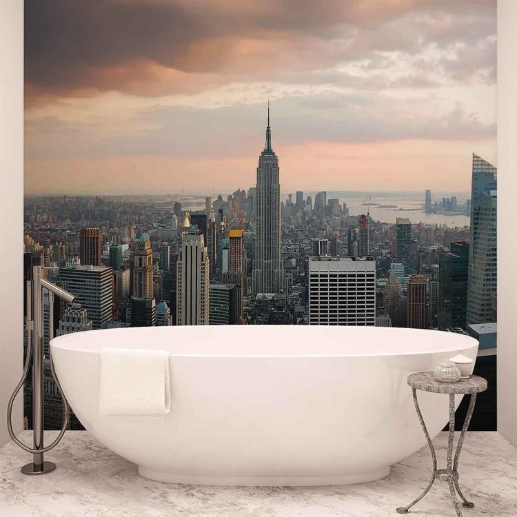 New York City Empire State Building Fali tapéta