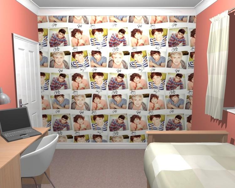One Direction - Collage Fali tapéta