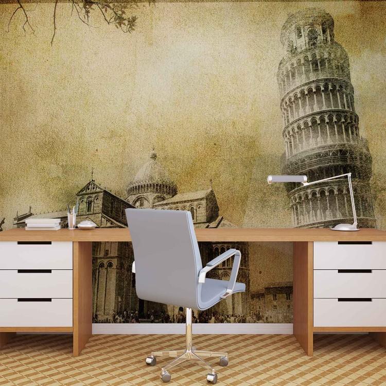 Pisa Leaning Tower Tapéta, Fotótapéta