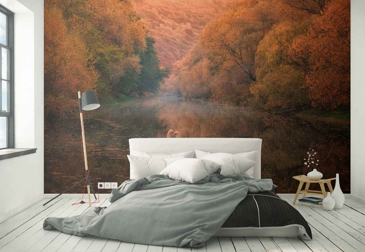 Romantic River Tapéta, Fotótapéta