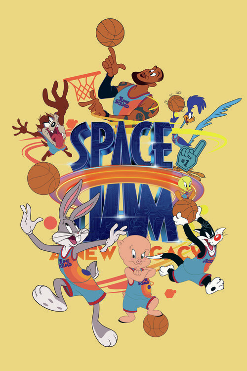Space Jam 2 - Tune Squad  2 Tapéta, Fotótapéta