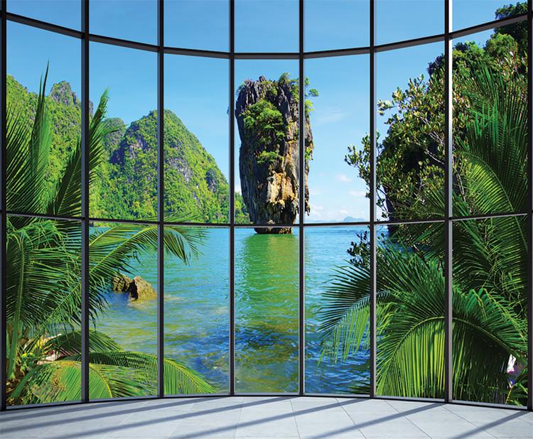 Thaiföld - Window Tapéta, Fotótapéta